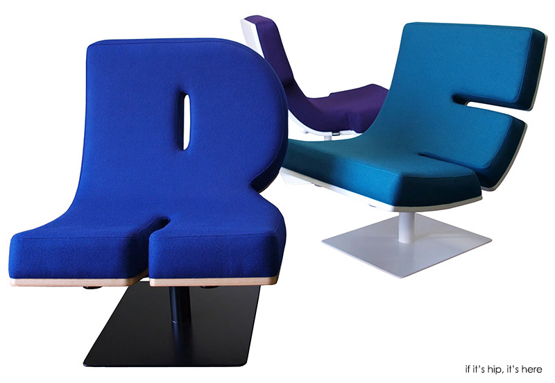 Exceptional Typographic Furniture. Chairs That Talk And Lamps That Punctuate.   If Itu0027s  Hip, Itu0027s Here