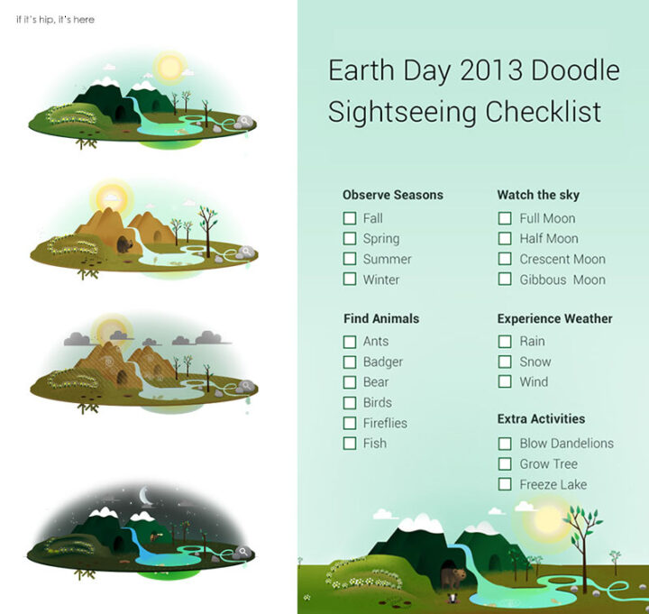 Get The Most Out Of Today's Interactive Earth Day Google Doodle