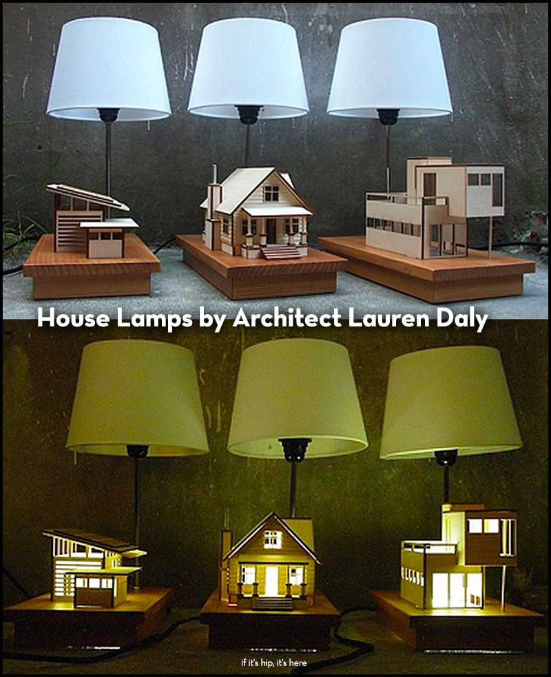 House Lamps by Architect Lauren Daly