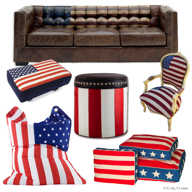 Amazing 10 Pieces Of Perfectly Patriotic Furniture For The Fourth Of July.   If  Itu0027s Hip, Itu0027s Here