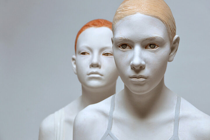 Bruno Walpoth Brings Wood To Life In His Contemporary Human Sculptures.