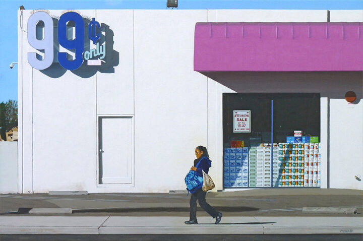 Mundane Made Magnificent: Michael Ward Paints The Mystery Of The Ordinary.
