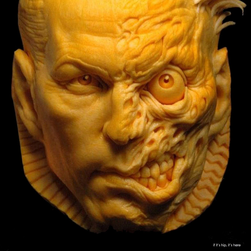 Phenomenal pumpkins carved by the artists at villafane studios
