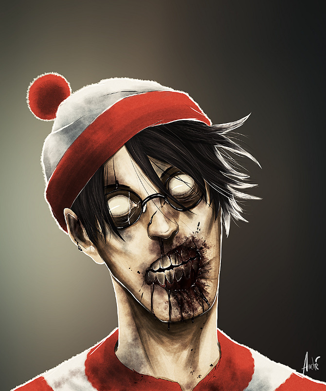 Read more about the article We Found Waldo. And He's A Zombie. Pop Culture Icons As the Undead by Andre de Freitas.