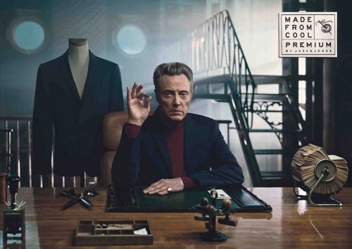 Read more about the article Made From Cool. Christopher Walken Turns Tailor In This New TV and Print Campaign for Fashion Brand Jack & Jones.