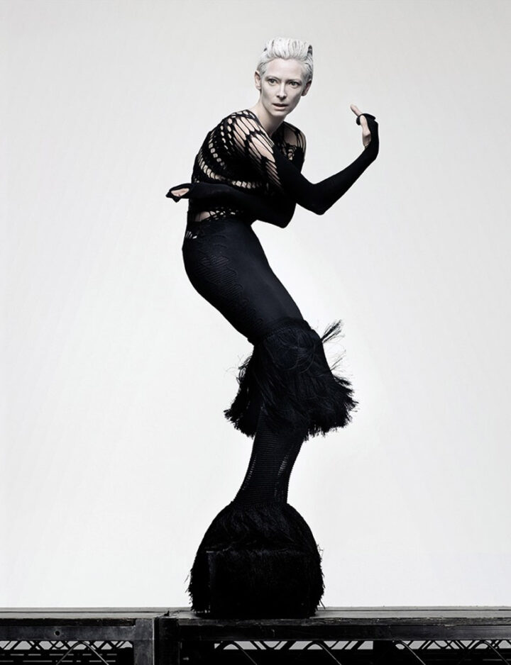 Actress Tilda Swinton Kills It In These Fabulous Fashions Shots by Craig McDean