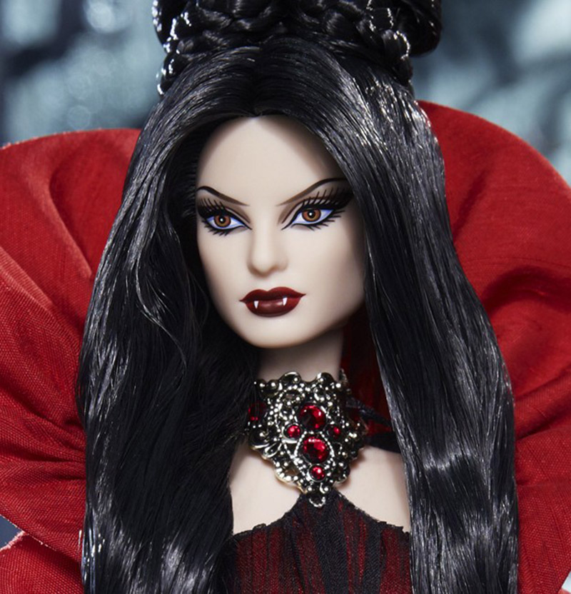 Limited Edition Haunted Beauty Vampire Barbie Is Goth and ... Gothic Vampire