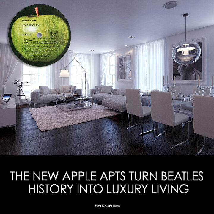 A Look Inside The Apple Apartments That Turned Beatles History Into Luxury Living.
