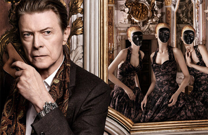 UPDATED: New Louis Vuitton Ad Campaign Starring David Bowie – The Film (2 versions), The Print, Storyboards And The App.