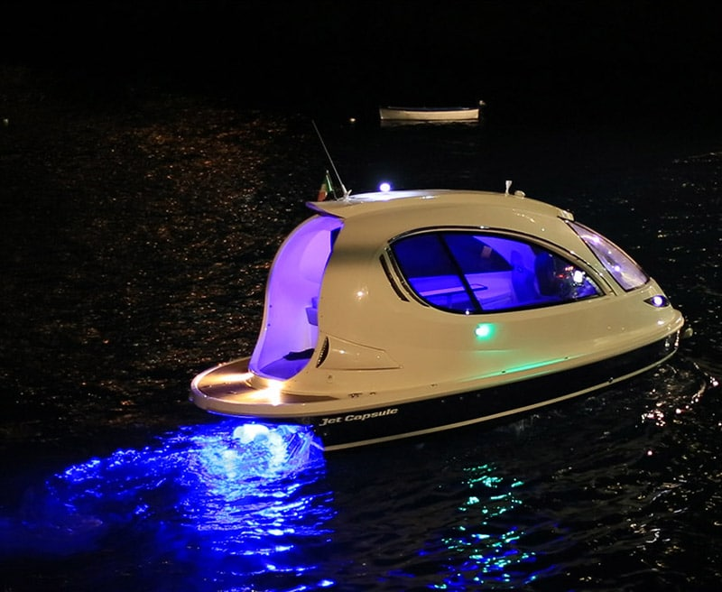 Anti Theft System >> The Jet Capsule is Like a Jet Ski & a Yacht had a Baby!