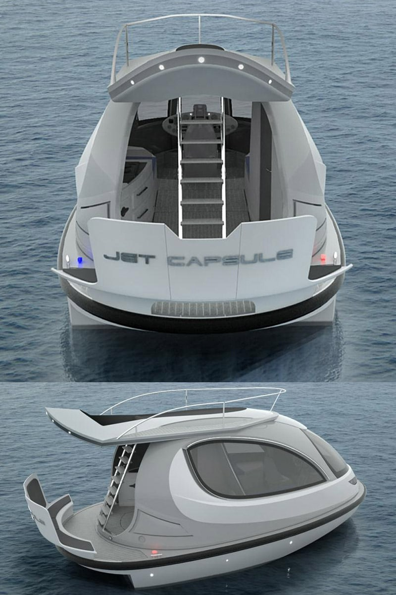 The Jet Capsule Is Like A Jet Ski Amp A Yacht Had A Baby
