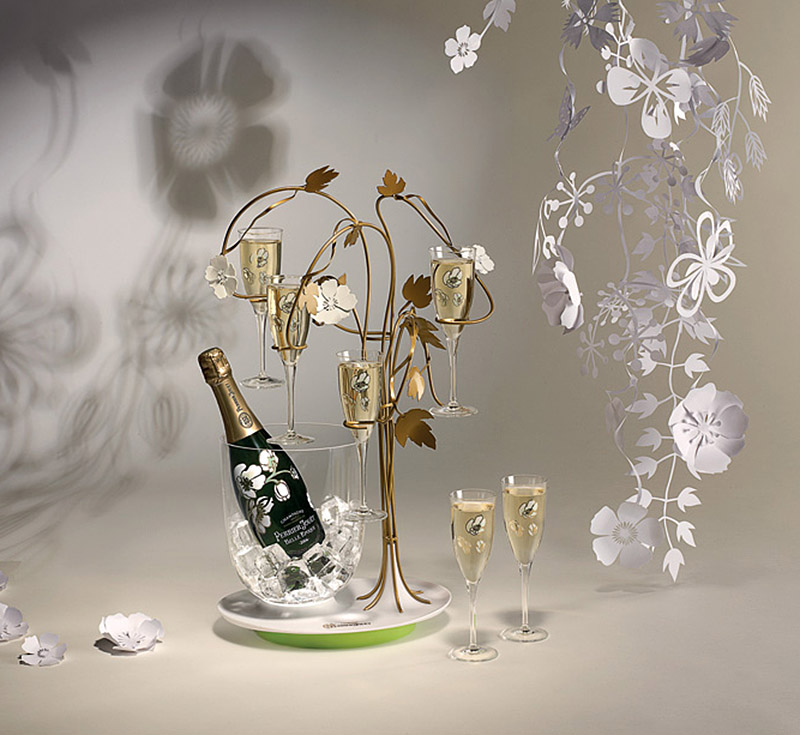 Tord Boontje for Perrier Jouet