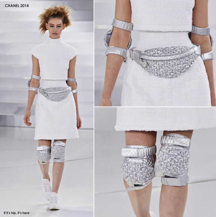Flat Shoes, Funnel Necks and Fanny Packs? A Look At Chanel's 2014 Haute Couture Collection.