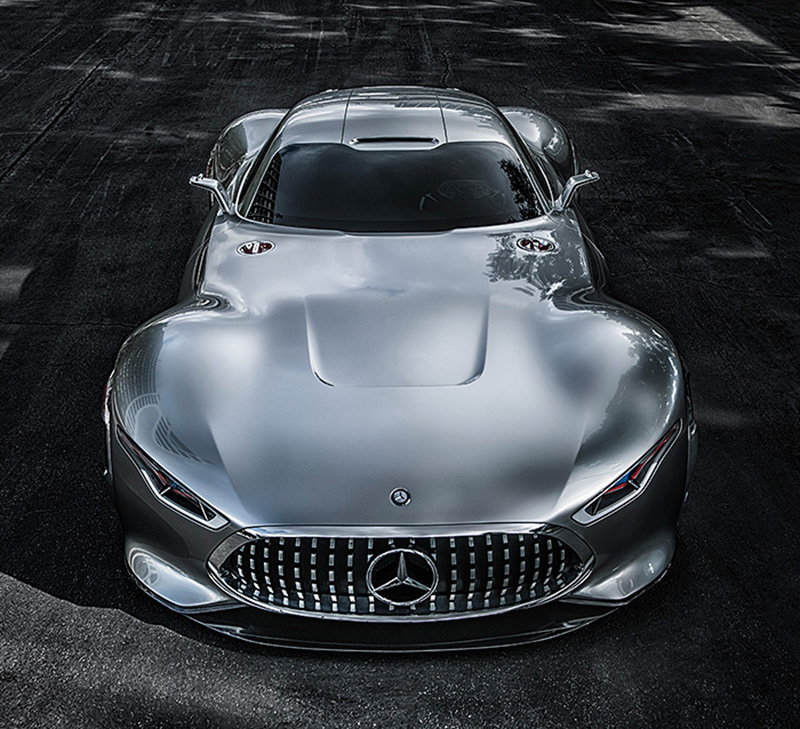 mercedes benz designs a wicked car inspired by a video racing game the amg vision gran turismo if its hip its here