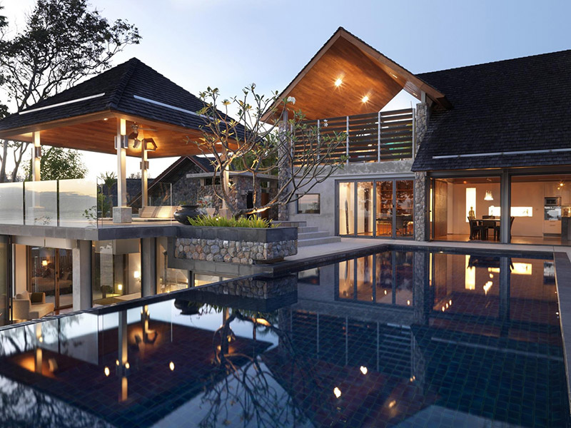 Modern Thai House Design