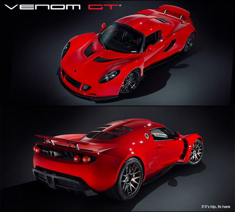 The Hennessey Venom Gt Nabs The Title Of The World S