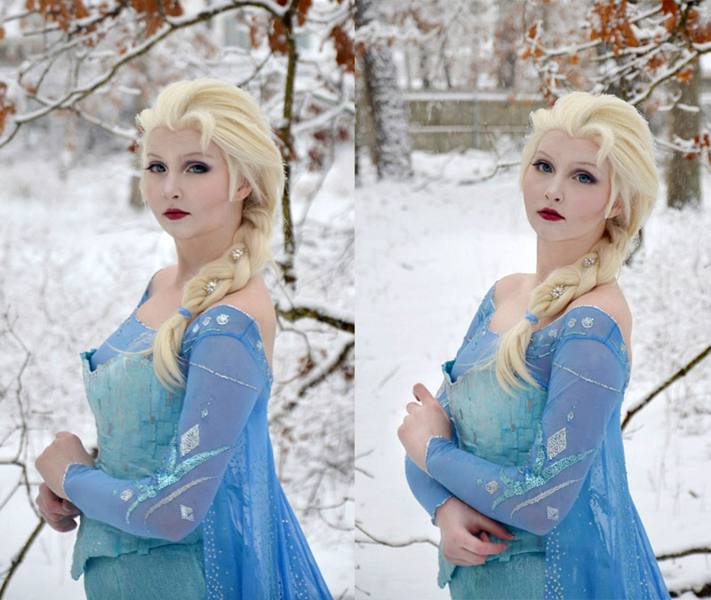 Disney's Queen Elsa From