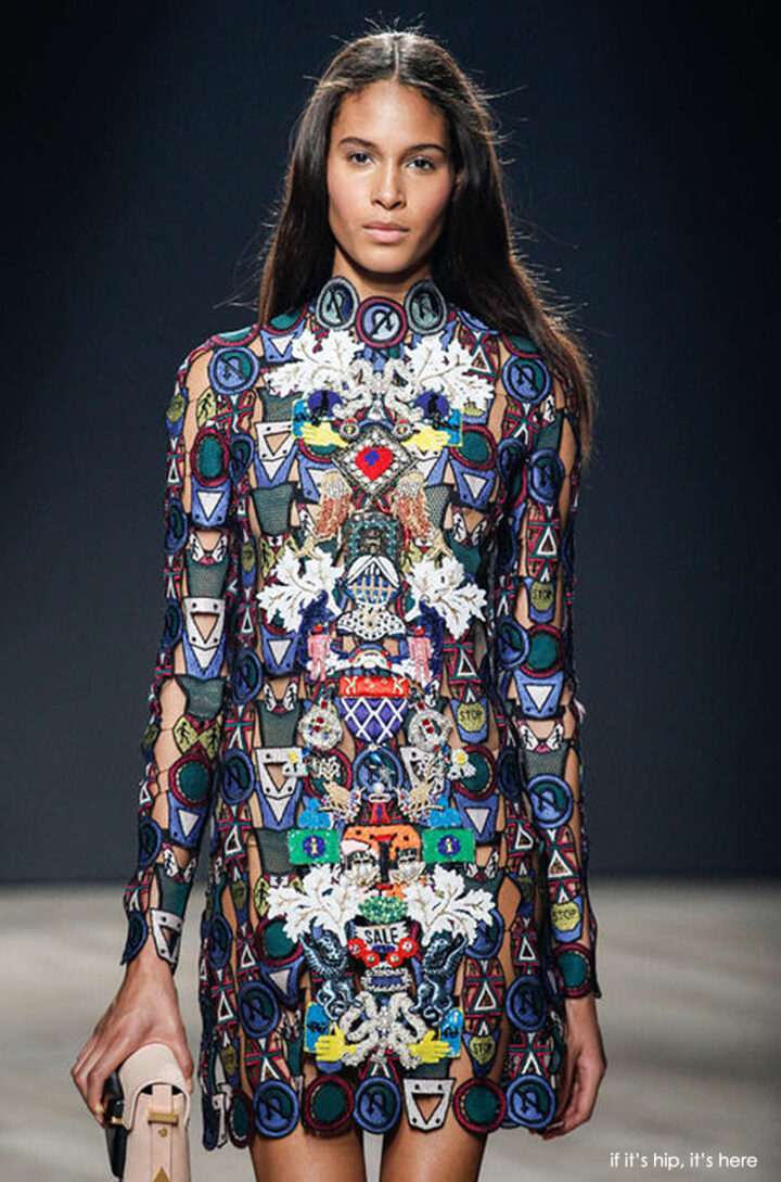 Mary Katrantzou's Wild 2014 F/W Collection Is A Big Departure for The Greek Designer.