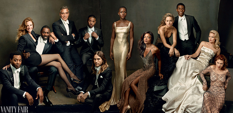 Vanity Fair's 2014 Hollywood Issue Cover