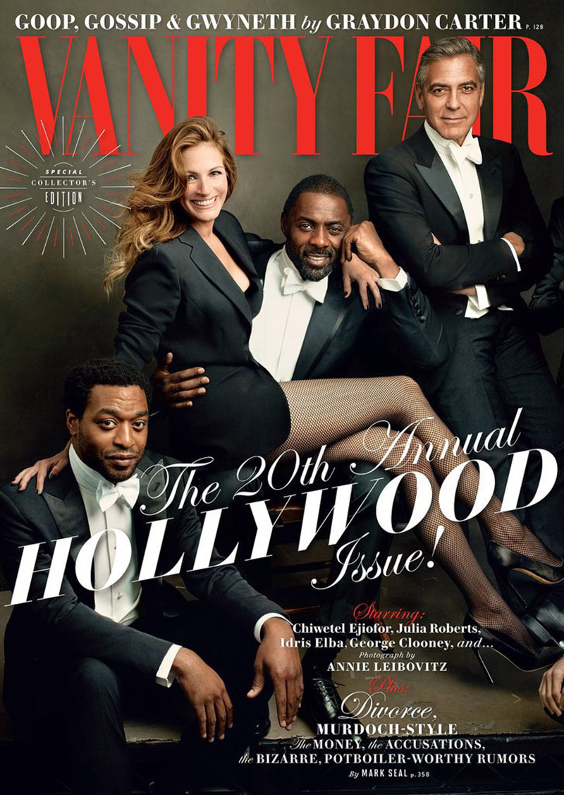 Vanity Fair S 2014 Hollywood Issue Cover Close Up Behind The Scenes If It S Hip It S Here