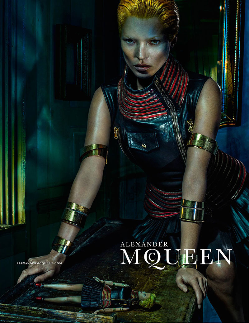 alexander mcqueen ad campaign kate moss