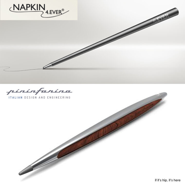 Pininfarina & Napkin Collaborate To Create A Pen That Never Needs Ink. Ever.