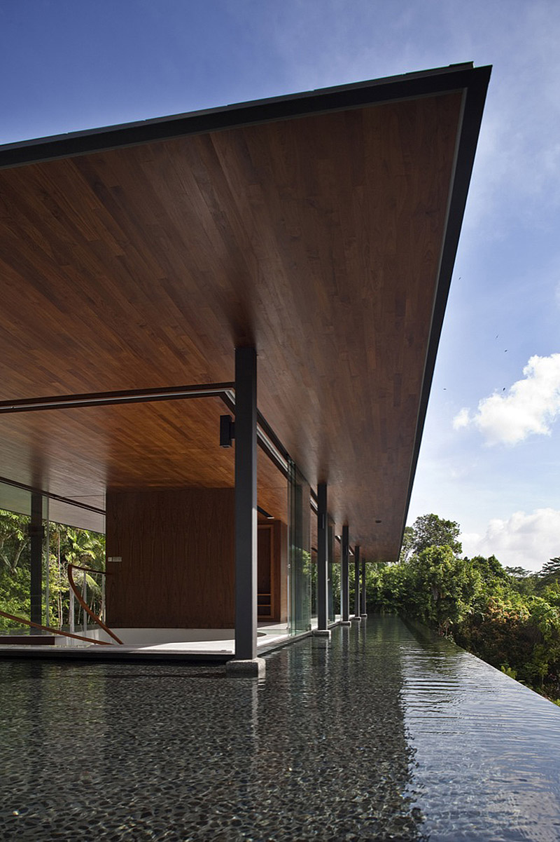 Water Cooled House By Wallflower Architects In Singapore