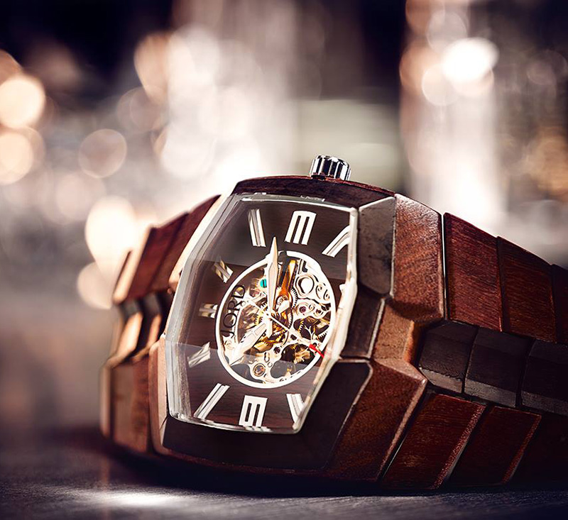 100 Natural Hand Crafted Wood Watches From Jord If It