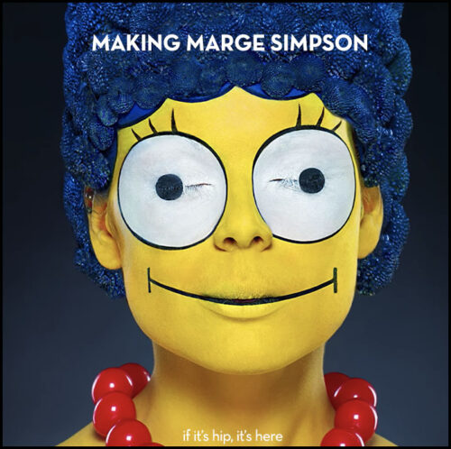 Read more about the article Marge Simpson Makeup by Alexander Khokhlov Brings The Character To Life.