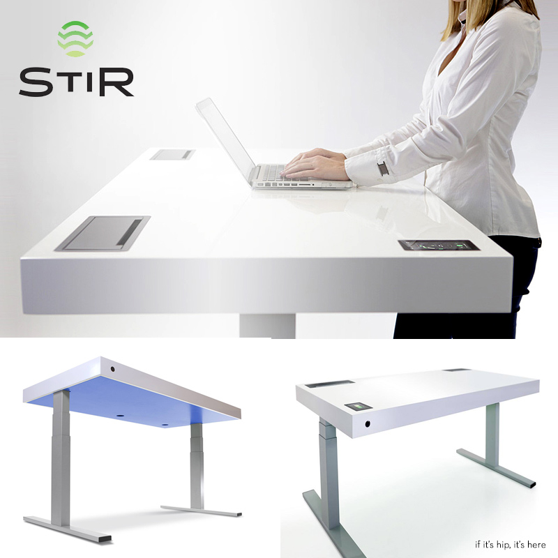 Stir Kinetic Desk Hero IIHIH