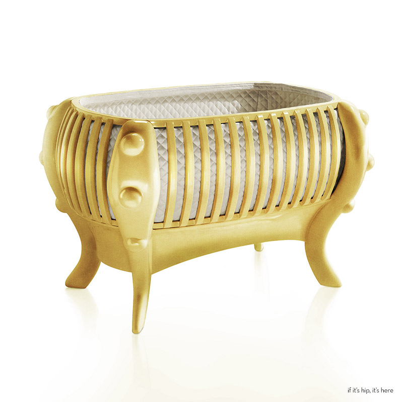 A 16 3 Million Solid Gold Bassinet And Luxury Cribs For