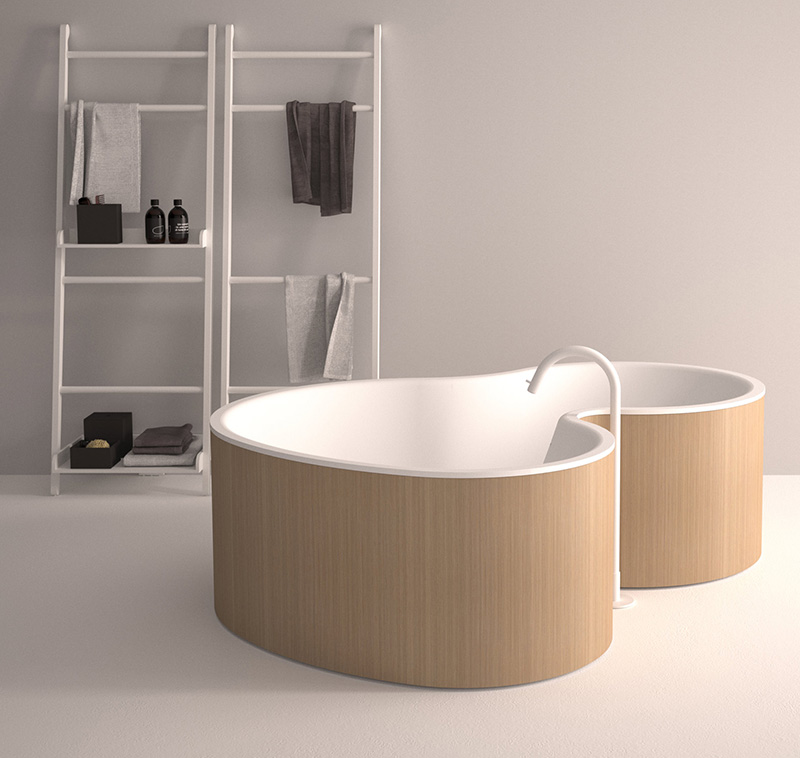 The DR Tub by agape