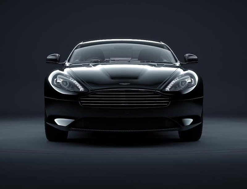 db9carbon black head on IIHIH
