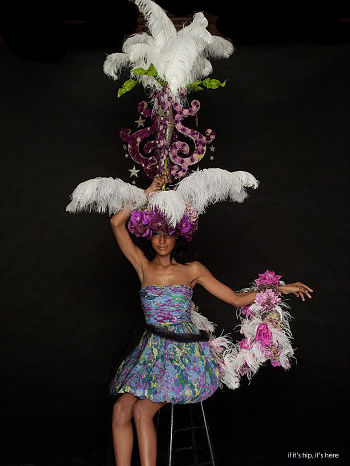 Tracy Reese in collaboration with Gerald Palumbo, Seasons A Floral Design Studio IIHIH