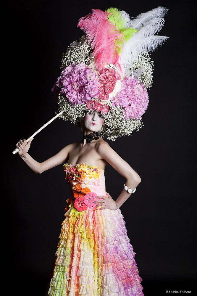 Tulips and Pansies 2011 millinery