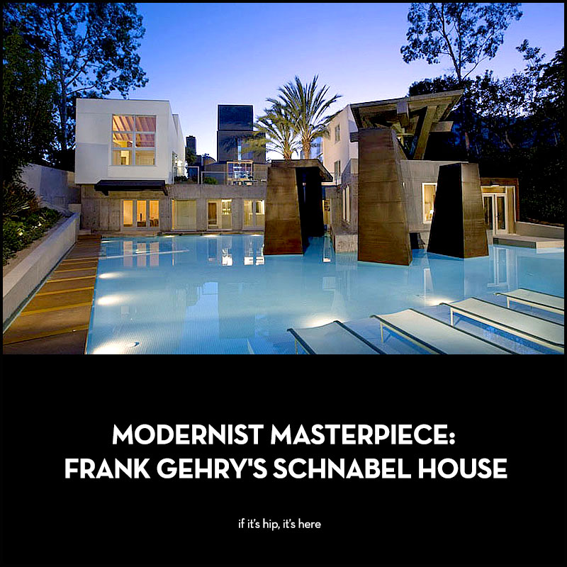 Modernist Masterpiece Frank Gehry's Schnabel House
