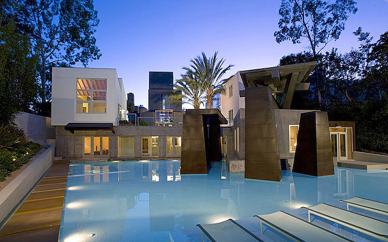 Modernist Masterpiece Frank Gehry 39 S Schnabel House Lists
