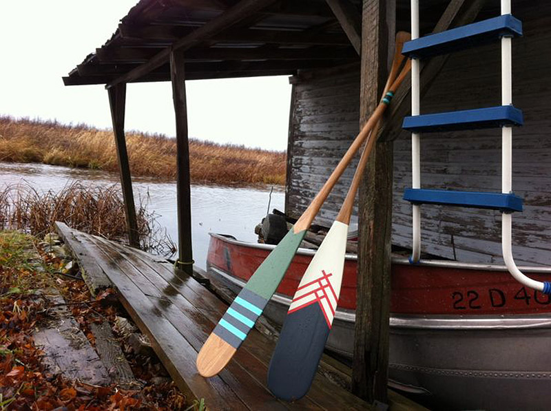 Artisan Canoe Paddles from Norquay Co