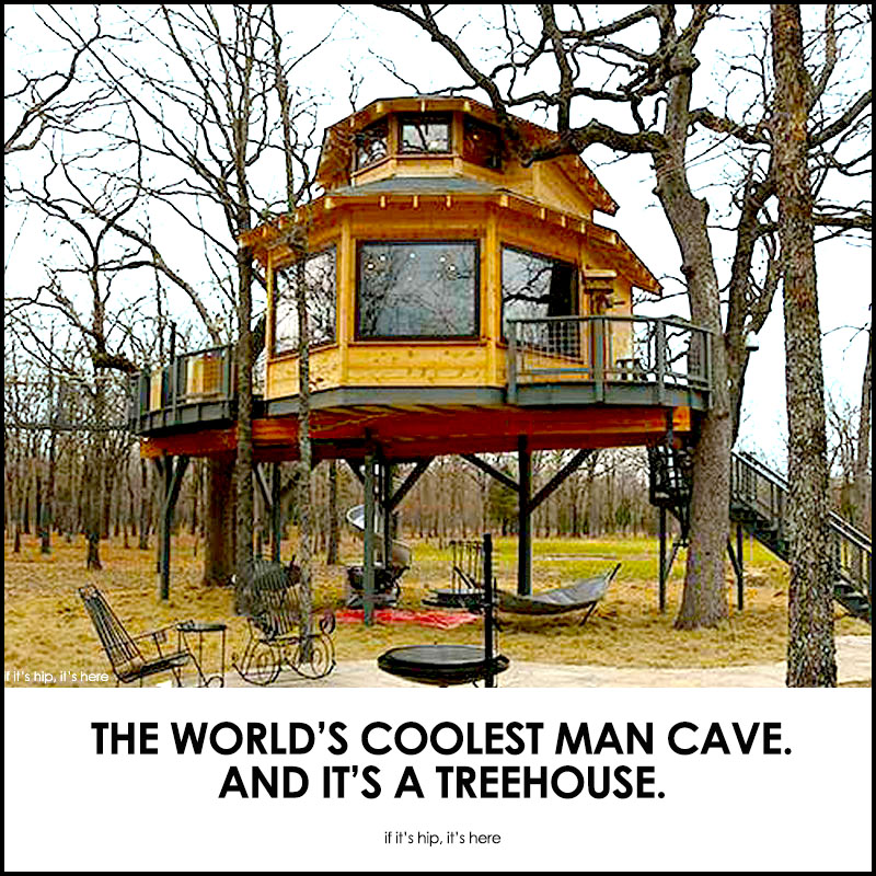 man cave treehouse - Biggest Treehouse In The World 2014