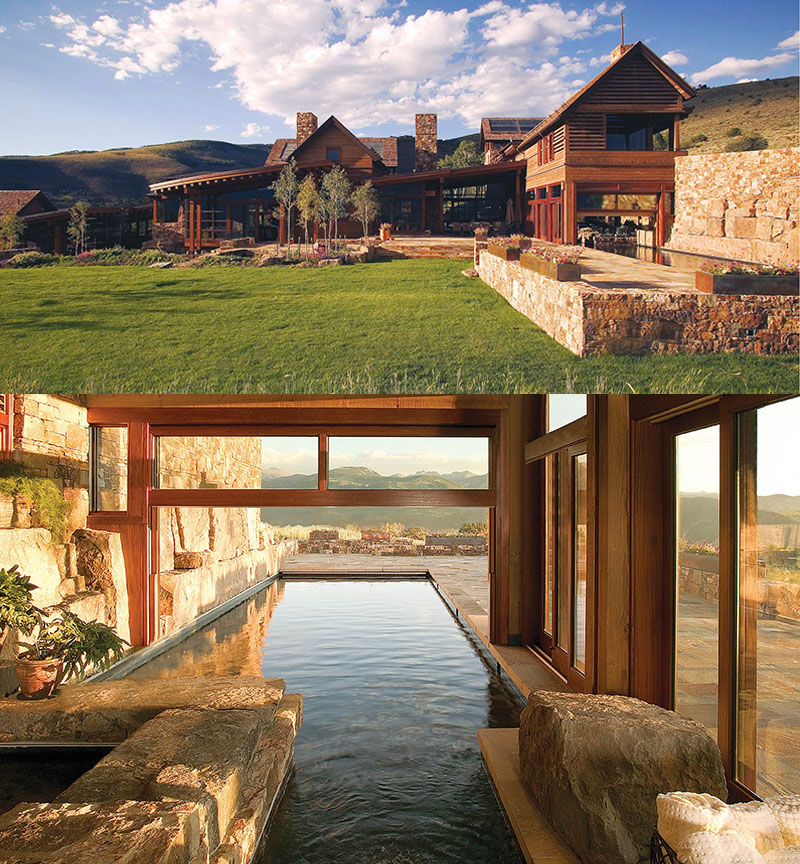 Bkd Luxury Co Home: Luxurious Mountain Home In Colorado With Indoor/Outdoor