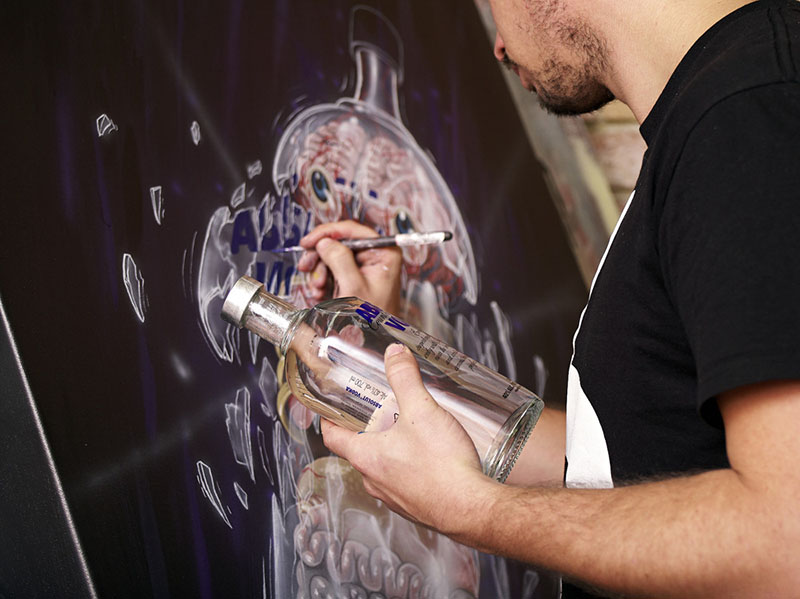 NYCHOS for absolut at work IIHIH