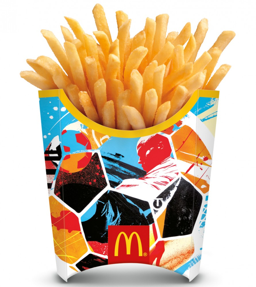 mcdonald's 2014 world cup french fries