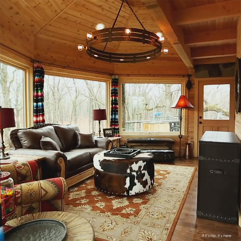 worlds coolest man cave is a treehouse - Treehouse Masters Inside