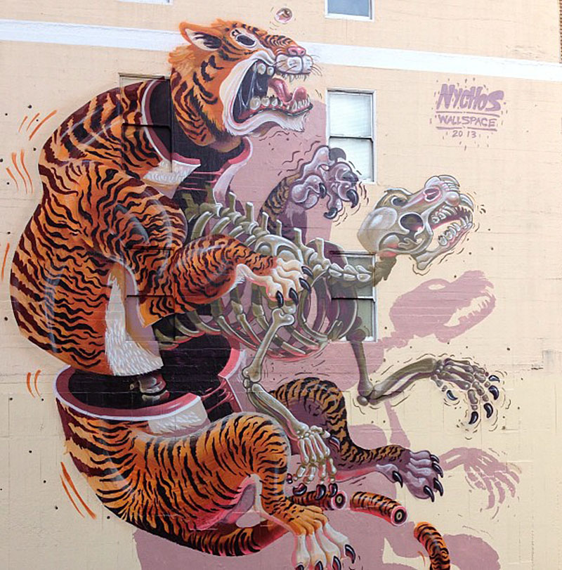 nychos tiger dissection 2013 IIHIH