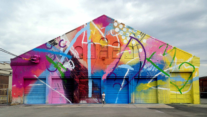 Alex Brewer Brightens Up Buildings, Churches and Underpasses With ...