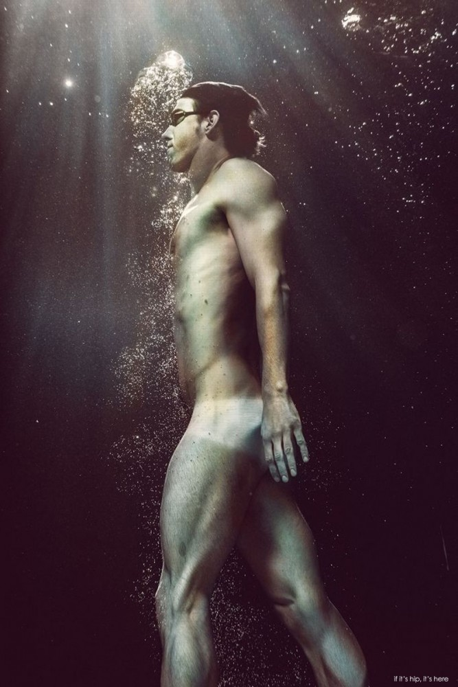 18 time Olympic Gold Medalist Swimmer Michael Phelps by Carlos Serrao