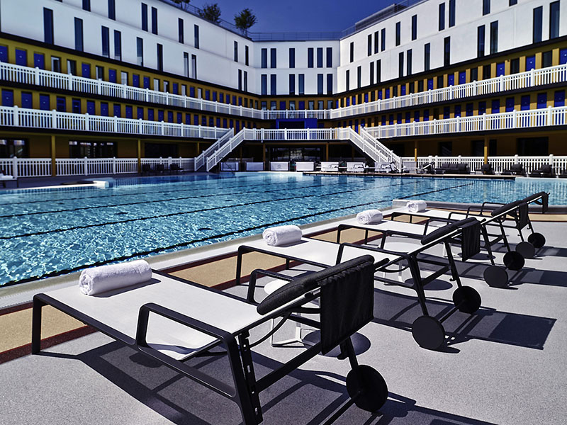 france 39 s molitor swimming baths re open with new rooms restaurant pools spa and club if it. Black Bedroom Furniture Sets. Home Design Ideas