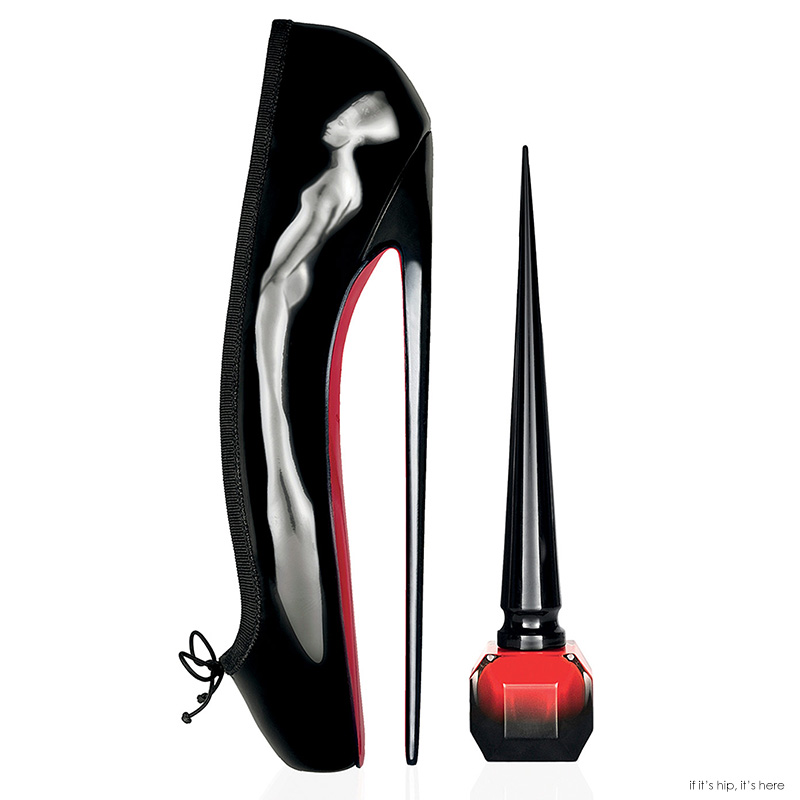 Louboutin Nail Lacquer In High Heel-Inspired Bottle with ...
