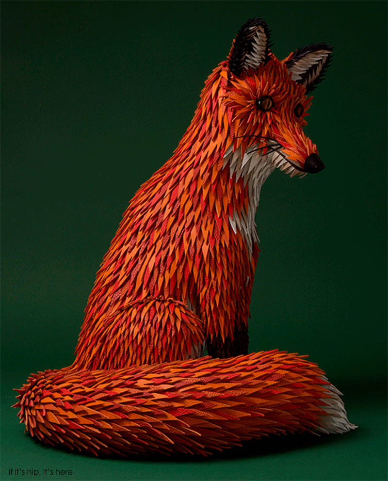 Herm 232 S Window Display By Zim And Zou Is A Fox Den Made Of