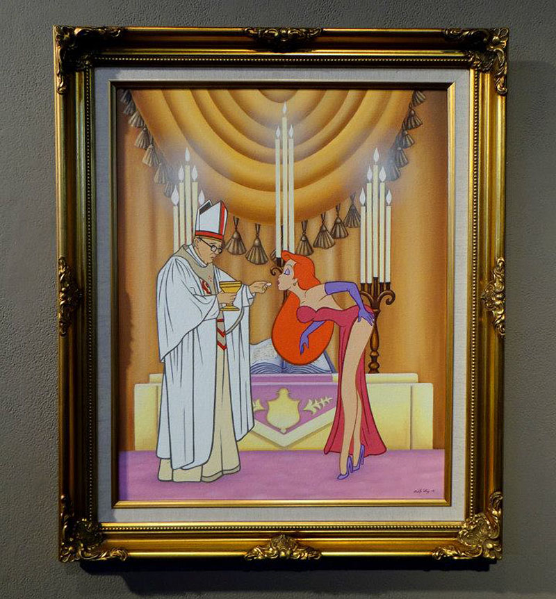 the pope and jessica rabbit